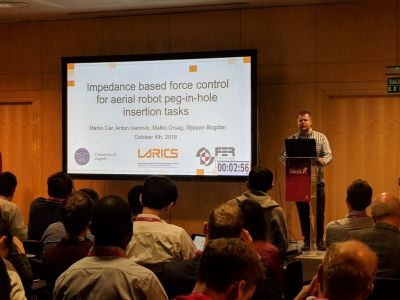 LARICS at IROS 2018 in Madrid