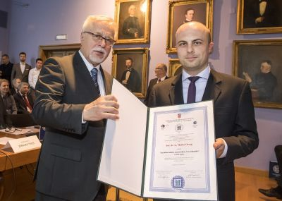 Matko Orsag won a Young Scientist Award