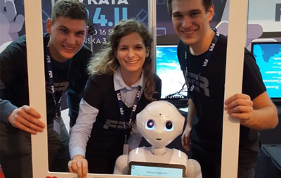 A successful European Robotics Week