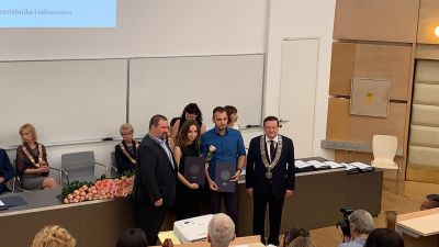 New Rector's Award in LARICS!