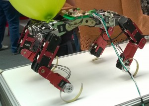 Our article on quadruped robot...