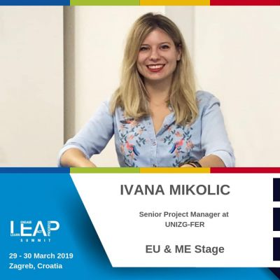 Ivana Mikolić at the LEAP Summit in...