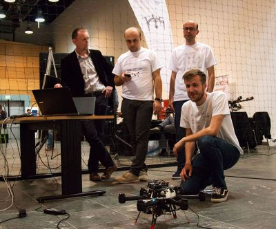 EUROC and MORUS presented on DRONEfest