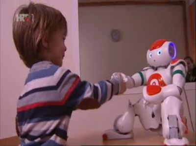 NAO robots featured on Croatian...