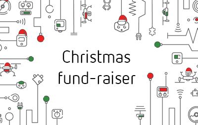 Christmas fund-raiser at our faculty