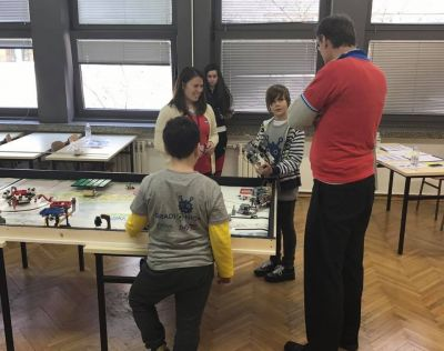 FIRST LEGO League at FER